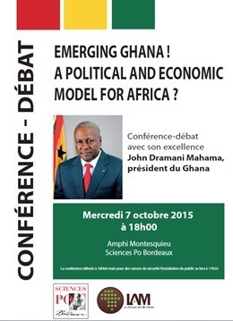 EMERGING GHANA ! A POLITICAL AND ECONOMIC MODEL FOR AFRICA ?