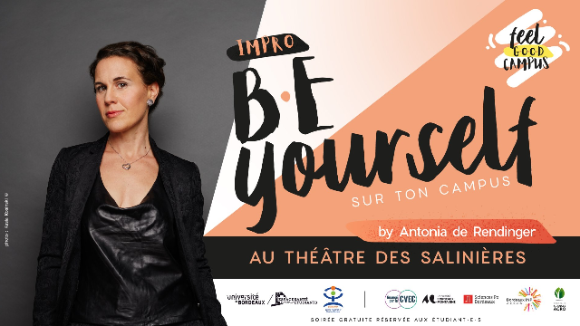 Be Yourself sur ton campus by Antonia de Rendinger